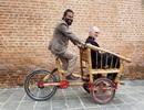 Độc đáo mẫu xe đạp điện đa năng bằng tre ở Nepal