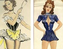 Đấu giá những bức phác họa phục trang gợi cảm của vũ nữ thập niên 1960