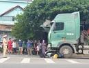 Dừng xe tại ngã 3, thanh niên bị xe đầu kéo chạy cùng chiều tông tử vong