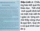 Xúc động bức thư thầy hiệu trưởng gửi học sinh không đoạt giải cấp tỉnh