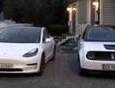 Xem xe Honda E sạc điện cho Tesla Model 3