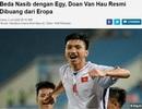 Báo Indonesia lên tiếng chê bai Văn Hậu