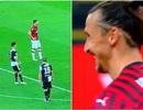 Chơi tâm lý chiến với Ibrahimovic, C.Ronaldo nhận cái kết đắng