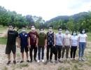 Bắt giữ, đưa đi cách ly 14 người nhập cảnh trái phép từ Trung Quốc