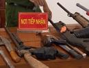 Vận động, thu giữ hàng trăm khẩu súng, vũ khí nguy hiểm