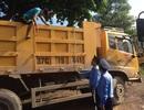 30 xe tải bị cắt gọt thùng