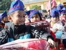 """Nghệ An: Lính trẻ mang """"đông ấm"""" tới học trò vùng cao"""