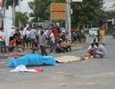 Ô tô kéo lê xe máy hơn 30m, 1 người tử vong