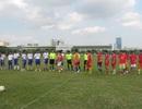 Sôi nổi trận giao hữu bóng đá giữa các nhà báo kỷ niệm ngày Báo chí CMVN