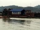 Phạt 5,1 tỷ đồng, thu giữ 5 tàu khai thác vàng trái phép trên sông Lô