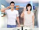 Chải răng chiều ngang: Dễ làm tổn thương răng miệng