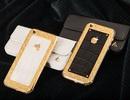 Cận cảnh iPhone 5S chế tác mạ vàng bọc da cá sấu tại Việt Nam