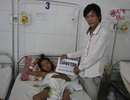 Hơn 40 triệu đồng đến với bé bị bệnh tan máu bẩm sinh