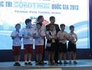 Học sinh Đà Nẵng và Hà Nội giành giải Nhất cuộc thi Robothon quốc gia 2013