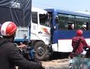 Xe tải tông đuôi xe khách nhiều người bị thương