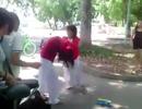 Xôn xao clip nữ sinh lớp 9 đánh bạn cùng trường dã man