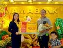 Nam A Bank trao tặng 5 lượng vàng đến các khách hàng may mắn đầu năm