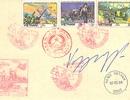 Hai phong bì thư có chữ ký của Đại tướng Võ Nguyên Giáp
