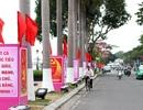 Rực cờ hoa chào mừng Đại hội Đảng lần thứ XII