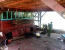 Cháy tàu câu mực, thiệt hại hơn 1 tỷ đồng