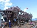 Ngư dân đóng tàu vỏ thép, hiện thực giấc mơ chinh phục biển lớn