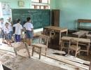 Quảng Trị: Nhiều trường học vẫn ngổn ngang sau lốc xoáy