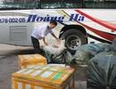 Bắt xe khách vận chuyển hơn 600kg thịt đông lạnh không rõ nguồn gốc