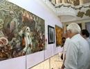 Hơn 250 tác phẩm tham gia triển lãm mỹ thuật Bắc miền Trung