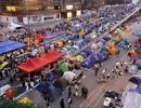 Người biểu tình Hồng Kông kiên quyết bám trụ