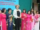 Bộ trưởng Giáo dục Đan Mạch thăm ngôi trường trung học đặc biệt ở Hà Nội