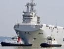 Chiến hạm Mistral thứ 2 rời cảng để thử nghiệm trên biển