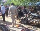 Xe du lịch từ Việt Nam va chạm với xe chở công nhân Campuchia, 21 người chết