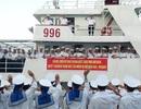 Xúc động lễ tiễn tàu hải quân mang hàng Tết ra Trường Sa