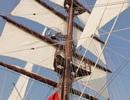 Lễ Thượng cờ trên tàu buồm đầu tiên của Hải quân Việt Nam