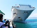 Tàu chỉ huy, đổ bộ đa năng hàng đầu Pháp thăm Cam Ranh