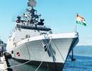 Hai chiến hạm Ấn Độ cùng thủy đoàn hơn 600 người thăm Cam Ranh