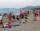 Nha Trang: Bãi biển đông nghẹt trong ngày Quốc Khánh 2/9