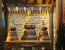"""Một người dân công bố sở hữu bộ tượng """"tam thế Phật"""" từ thời nhà Trần?"""