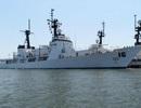 Chiến hạm hiện đại hàng đầu Philippines thăm Cam Ranh