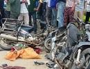 Hai xe máy tông nhau vỡ nát, 2 phụ nữ thương vong