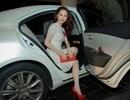 Á hậu Thái Như Ngọc đụng váy hàng hiệu với Angela Baby