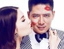 """""""Thiên Lôi"""" Bình Minh mặt kín dấu son môi của Diễm My 9X"""