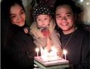 Siêu mẫu Trang Nhung hạnh phúc đón sinh nhật giáp Tết