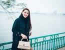 Trang Nhung diện túi trăm triệu dạo phố Hà Nội