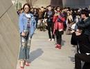 """Minh Hằng âm thầm """"ghi điểm"""" ở tuần lễ thời trang Seoul"""