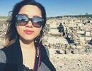 Á hậu Hoàng My sống sót trong vụ nổ bom ở Jerusalem
