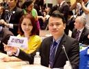 Mai Thu Huyền sang Đài Loan dự hội nghị của lãnh đạo trẻ thế giới