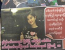 Hình ảnh Á hậu Huyền My ngập tràn các trang báo Myanmar