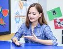 Diễn viên Lan Phương trổ tài nói tiếng Anh lưu loát