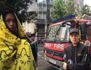 Noo Phước Thịnh, Miu Lê an toàn trong vụ cháy ở Anh